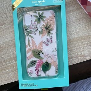 Kate spade floral phone xs Max case